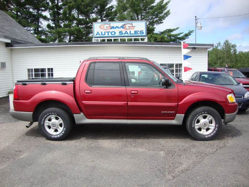 2001 ford explorer sport trac base 4dr 4wd crew cab sb in merrill wi g and g auto sales. Black Bedroom Furniture Sets. Home Design Ideas