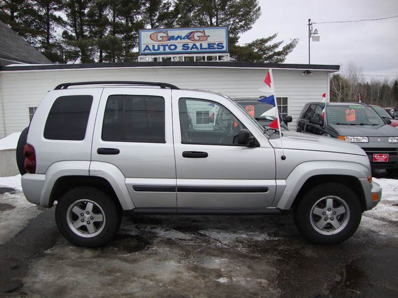 2005 jeep liberty rocky mountain 4wd 4dr suv in merrill wi g and g auto sales. Black Bedroom Furniture Sets. Home Design Ideas
