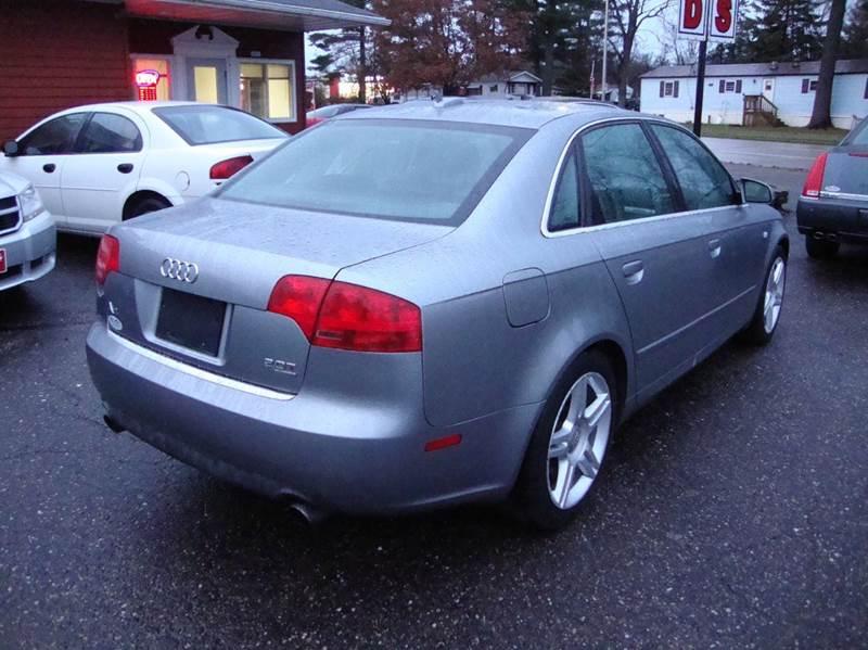 2005 audi a4 2 0t quattro awd new 4dr turbo sedan in merrill wi g and g auto sales. Black Bedroom Furniture Sets. Home Design Ideas