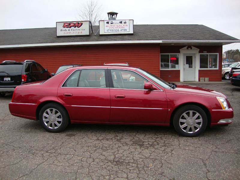 2006 cadillac dts luxury ii 4dr sedan in merrill wi g and g auto sales. Black Bedroom Furniture Sets. Home Design Ideas