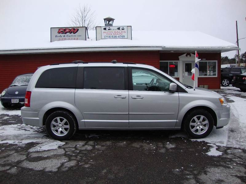 2008 chrysler town and country touring 4dr mini van in merrill wi g and g auto sales. Black Bedroom Furniture Sets. Home Design Ideas