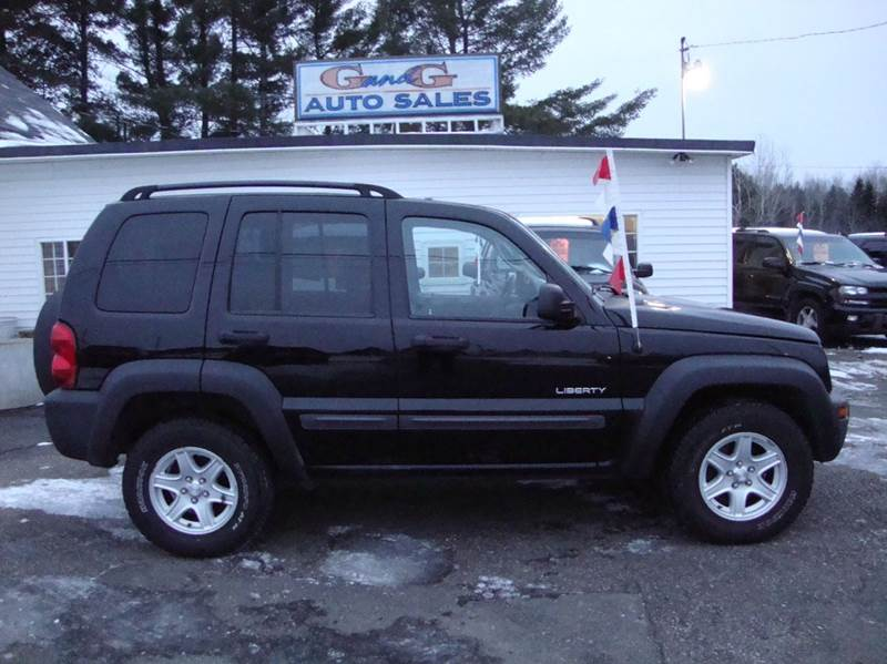 2004 jeep liberty 4dr sport 4wd suv in merrill wi g and. Black Bedroom Furniture Sets. Home Design Ideas
