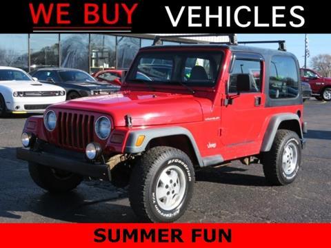 1997 Jeep Wrangler for sale in Vicksburg, MI