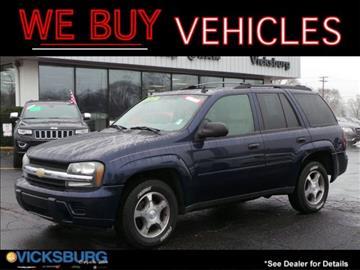 2007 Chevrolet TrailBlazer for sale in Vicksburg, MI