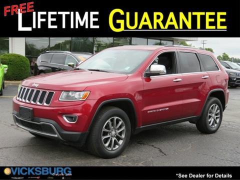 2014 Jeep Grand Cherokee for sale in Vicksburg, MI