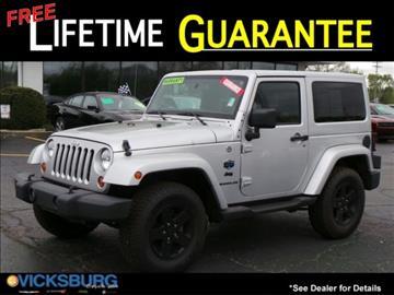 2012 Jeep Wrangler for sale in Vicksburg, MI