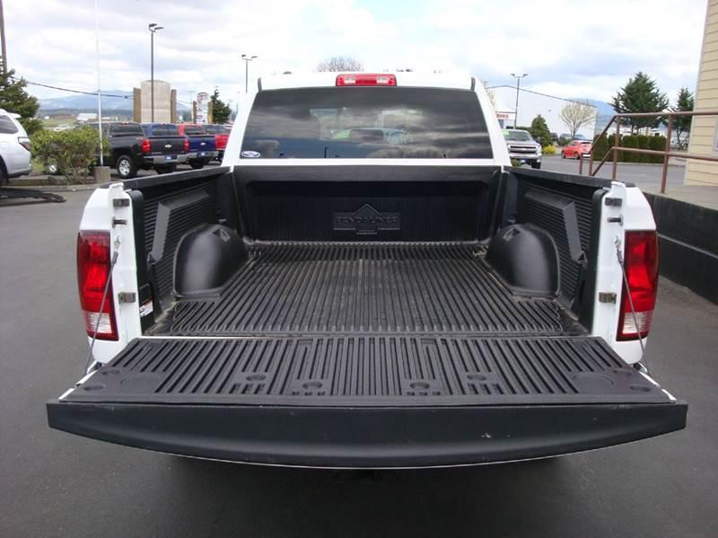 2013 RAM Ram Pickup 1500 4x4 Tradesman 4dr Quad Cab 6.3 ft. SB Pickup - Burlington WA