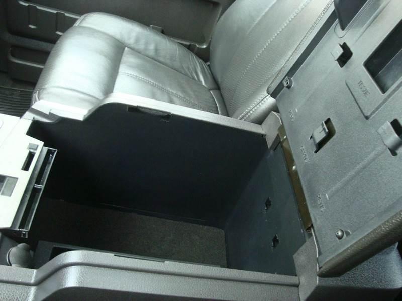2011 Ford F-350 Super Duty 4x4 Lariat 4dr Crew Cab 8 ft. LB SRW Pickup - Burlington WA
