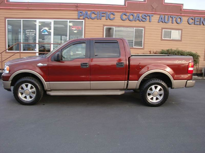2005 ford f 150 king ranch 4dr supercrew 4wd styleside 5 5 ft sb in burlington wa pacific. Black Bedroom Furniture Sets. Home Design Ideas