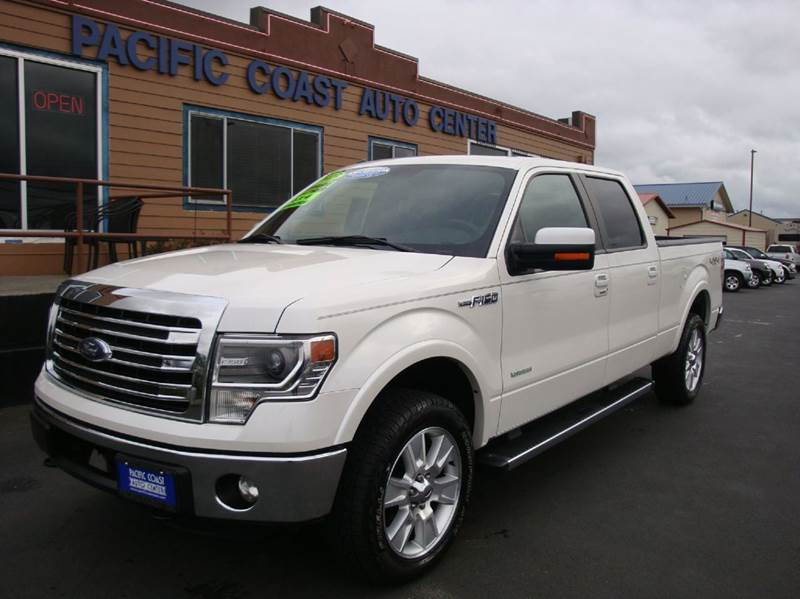 2013 ford f 150 4x4 lariat 4dr supercrew styleside 6 5 ft sb in burlington wa pacific coast. Black Bedroom Furniture Sets. Home Design Ideas