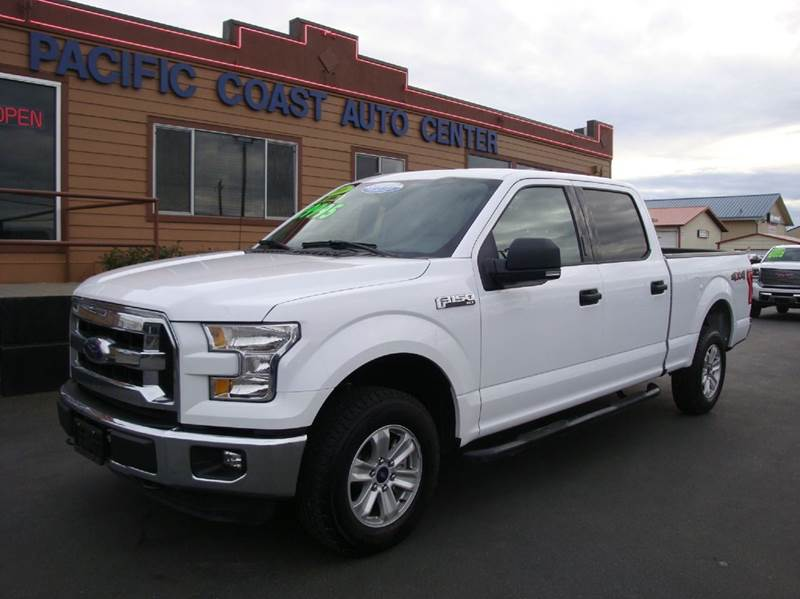 2016 ford f 150 xlt 4x4 4dr supercrew 6 5 ft sb in burlington wa pacific coast auto center. Black Bedroom Furniture Sets. Home Design Ideas