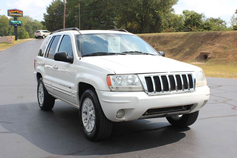 2004 JEEP GRAND CHEROKEE LIMITED 4DR SUV white baldwin automotive now has 2 locations to serve yo
