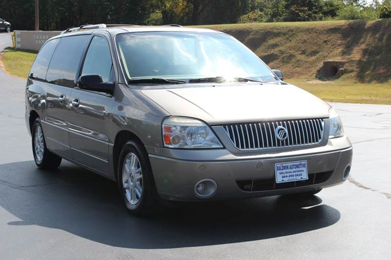 2004 MERCURY MONTEREY CONVENIENCE 4DR MINI VAN gold 4 year unlimited mileage bumper to bumper nat