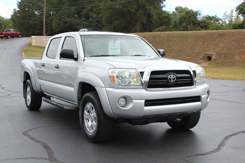 2006 TOYOTA TACOMA PRERUNNER V6 4DR DOUBLE CAB LB  silver baldwin automotive now has 2 locations