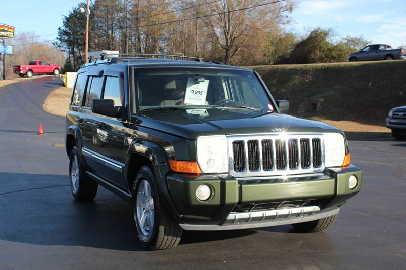 2006 JEEP COMMANDER LIMITED 4DR SUV 4WD green baldwin automotive now has 2 locations to serve you