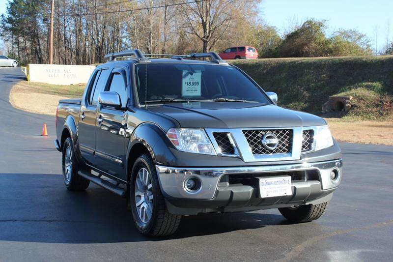 2011 NISSAN FRONTIER SL 4X2 4DR CREW CAB SWB PICKUP 5 gray 4 year unlimited mileage bumper to bum