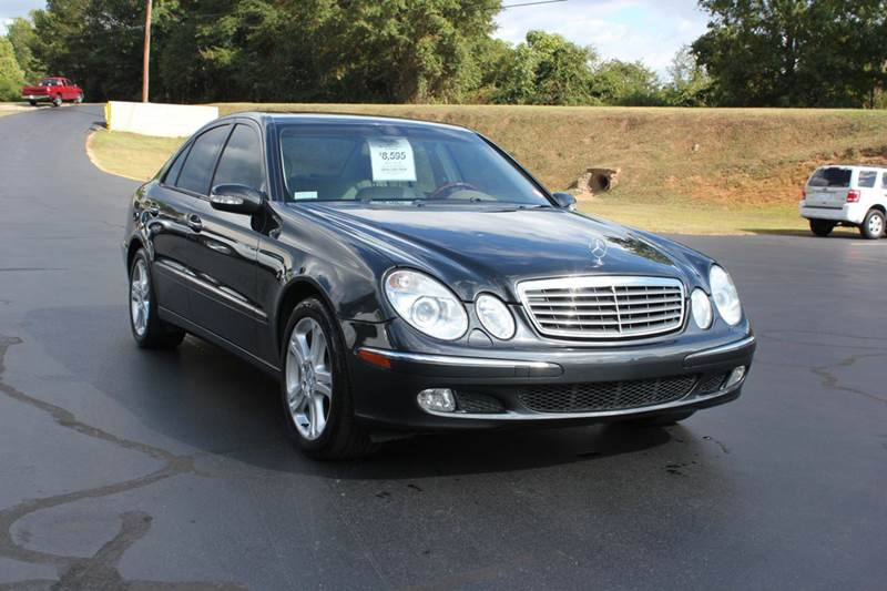 2004 MERCEDES-BENZ E-CLASS E500 4DR SEDAN charcoal 4 year unlimited mileage bumper to bumper nati