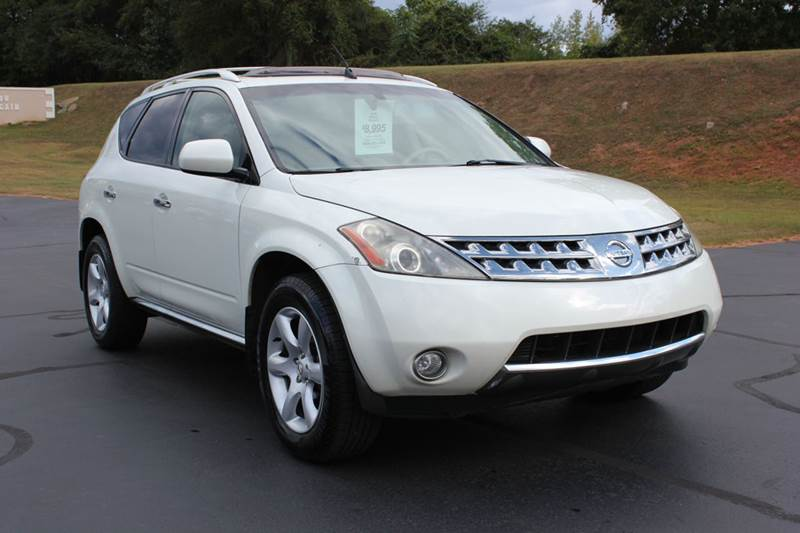 2006 NISSAN MURANO SE AWD 4DR SUV white baldwin automotive now has 2 locations to serve you in th