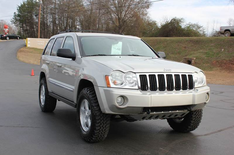 2007 JEEP GRAND CHEROKEE LIMITED 4X4 4DR CROSSOVER beige 4 year unlimited mileage bumper to bumper