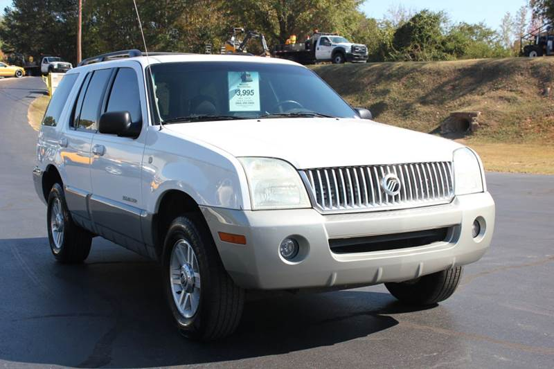 2002 MERCURY MOUNTAINEER BASE AWD 4DR SUV white 4 year unlimited mileage bumper to bumper nationw