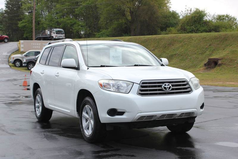 2008 TOYOTA HIGHLANDER BASE 4DR SUV white baldwin automotive now has 2 locations to serve you in