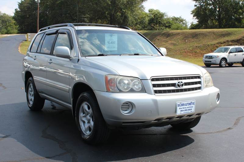 2002 TOYOTA HIGHLANDER BASE AWD 4DR SUV silver super clean like new 1 owner clean carfax toyota h