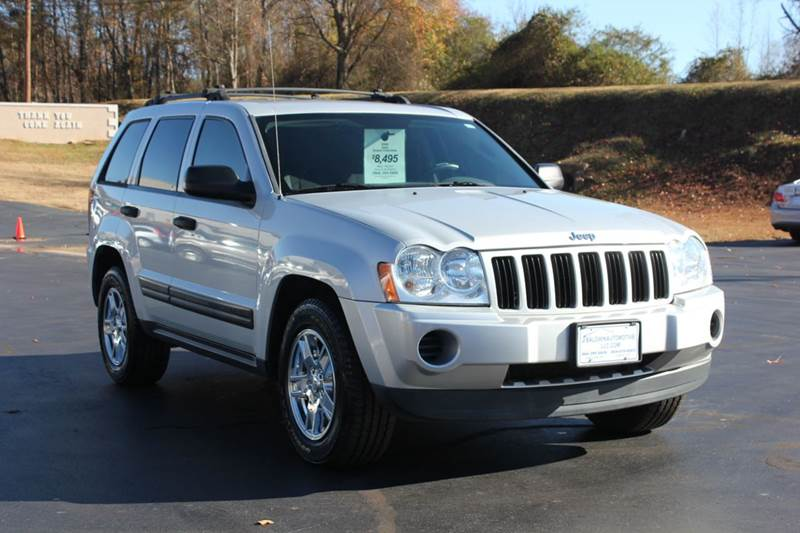 2006 JEEP GRAND CHEROKEE LAREDO 4DR SUV 4WD W FRONT SIDE silver 4 year unlimited mileage bumper