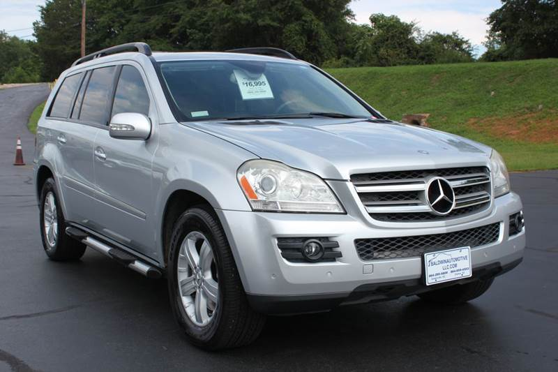 2007 MERCEDES-BENZ GL-CLASS GL450 AWD 4MATIC 4DR SUV silver baldwin automotive now has 2 location