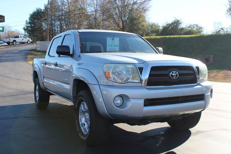 2007 TOYOTA TACOMA PRERUNNER V6 4DR DOUBLE CAB 50 silver baldwin automotive now has 2 locations