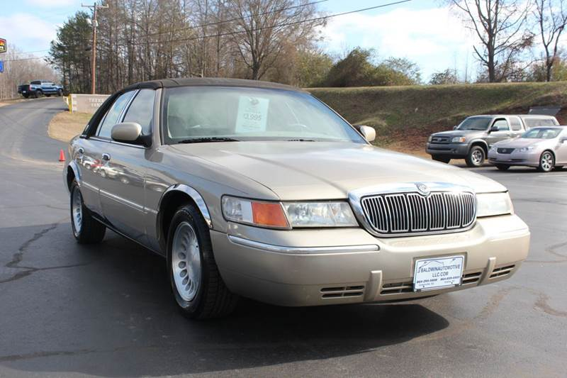 2000 MERCURY GRAND MARQUIS LS 4DR SEDAN gold 4 year unlimited mileage bumper to bumper nationwide