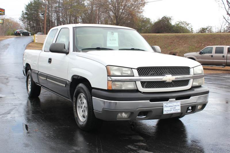 2004 CHEVROLET SILVERADO 1500 LS 4DR EXTENDED CAB RWD SB white 4 year unlimited mileage bumper to