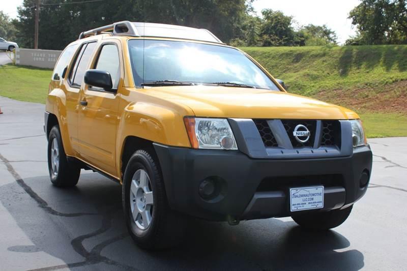 2007 NISSAN XTERRA X 4DR SUV 4L V6 5A yellow baldwin automotive now has 2 locations to serve yo