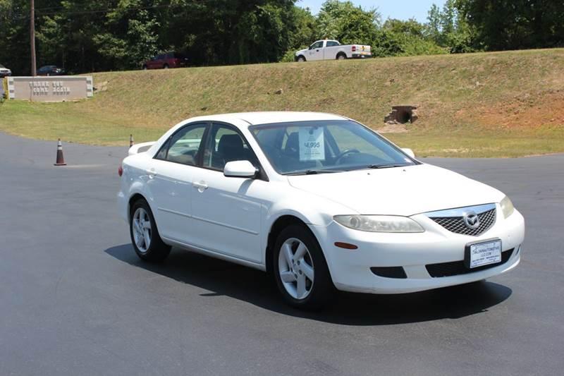 2003 MAZDA MAZDA6 I 4DR SEDAN white 4 year unlimited mileage bumper to bumper nationwide warranty
