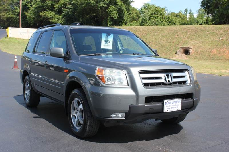2007 HONDA PILOT EX-L 4DR SUV gray baldwin automotive now has 3 locations to serve you in the ups