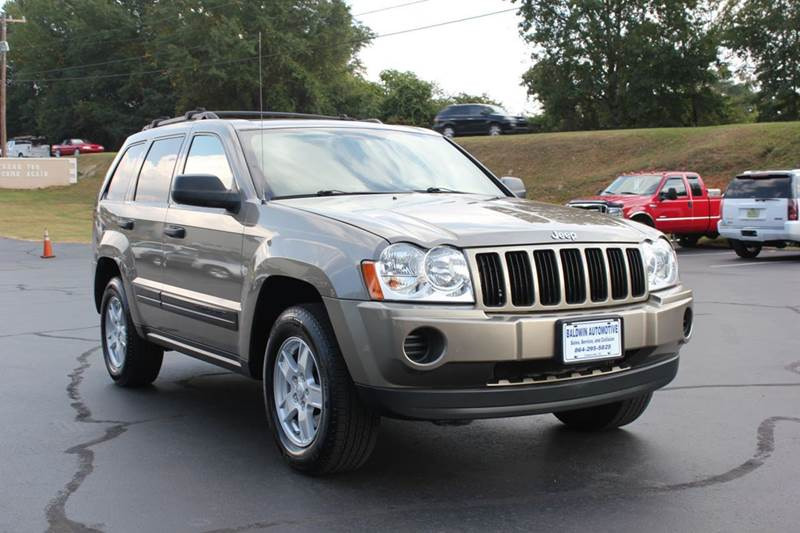 2006 JEEP GRAND CHEROKEE LAREDO 4DR SUV 4WD gold baldwin automotive now has 2 locations to serve