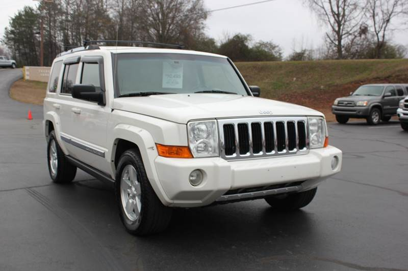 2006 JEEP COMMANDER LIMITED 4DR SUV 4WD white 4 year unlimited mileage bumper to bumper nationwid