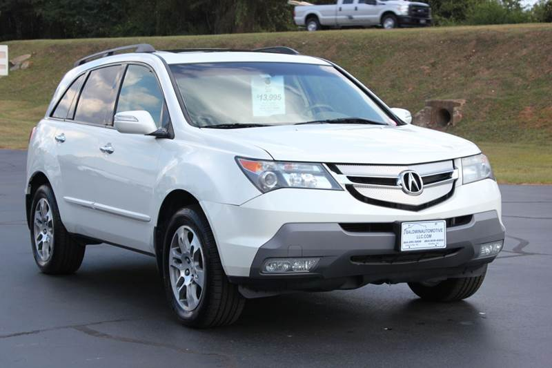 2007 ACURA MDX SH-AWD WTECH 4DR SUV WTECHNOLO pearl white 4 year unlimited mileage bumper to bum