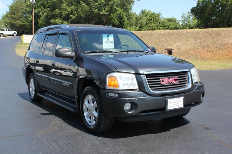 2004 GMC ENVOY XUV SLT 4DR SUV black baldwin automotive now has 2 locations to serve you in the u