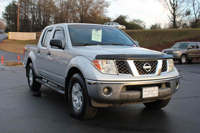 2005 NISSAN FRONTIER NISMO 4DR CREW CAB 4WD SB silver 4 year unlimited mileage bumper to bumper n