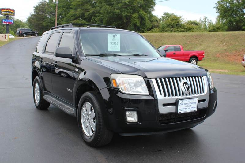 2008 MERCURY MARINER I4 4DR SUV black baldwin automotive now has 2 locations to serve you in the