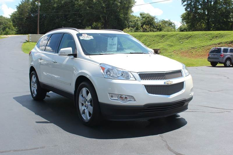 2011 CHEVROLET TRAVERSE LTZ 4DR SUV white baldwin automotive now has 3 locations to serve you in