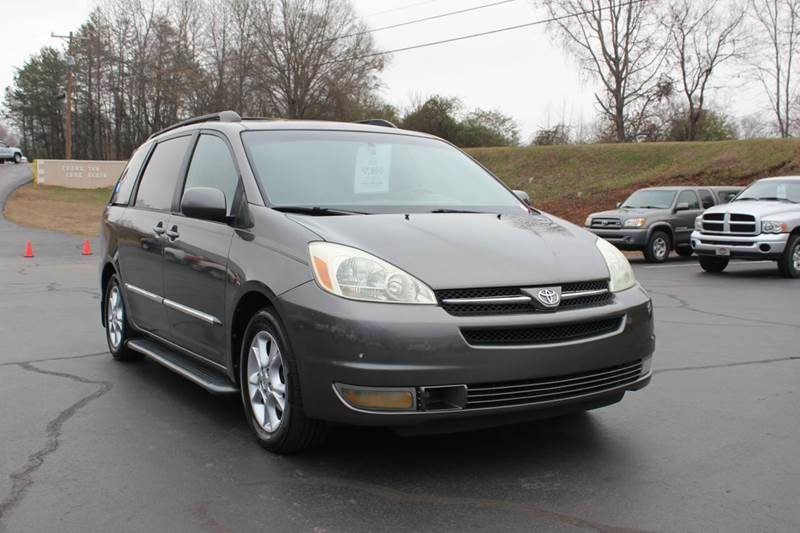 2004 TOYOTA SIENNA XLE LIMITED 7 PASSENGER 4DR MINI gray 4 year unlimited mileage bumper to bumpe