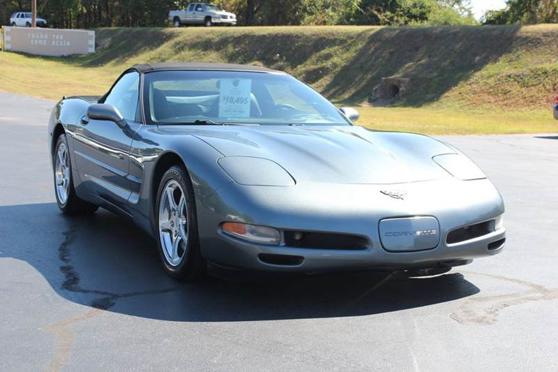 2003 CHEVROLET CORVETTE BASE 2DR CONVERTIBLE gray 4 year unlimited mileage bumper to bumper natio