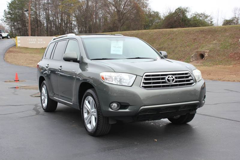 2008 TOYOTA HIGHLANDER LIMITED 4DR SUV green baldwin automotive now has 2 locations to serve you