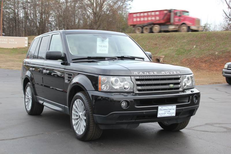2008 LAND ROVER RANGE ROVER SPORT HSE 4X4 4DR SUV black 4 year unlimited mileage bumper to bumper