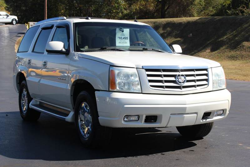 2004 CADILLAC ESCALADE BASE AWD 4DR SUV pearl white 4 year unlimited mileage bumper to bumper nat