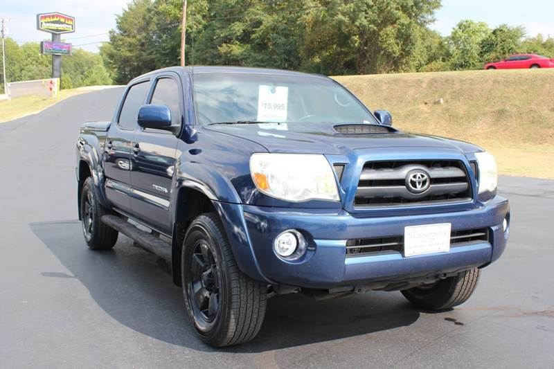 2005 TOYOTA TACOMA V6 4DR DOUBLE CAB 4WD SB blue baldwin automotive now has 2 locations to serve