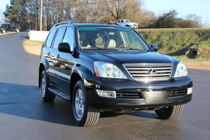 2007 LEXUS GX 470 BASE 4DR SUV 4WD black this vehicle is located on hwy 123 in easley sc  our g