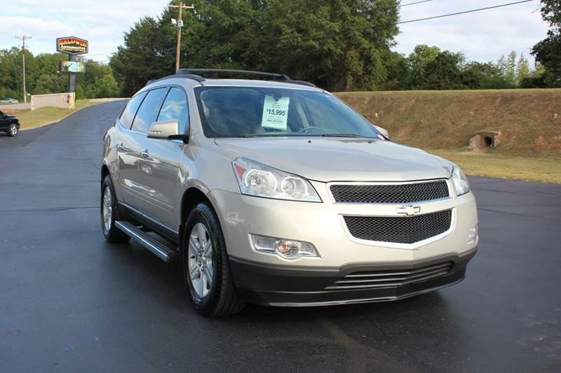 2011 CHEVROLET TRAVERSE LT 4DR SUV W2LT gold 4 year unlimited mileage bumper to bumper nationwide