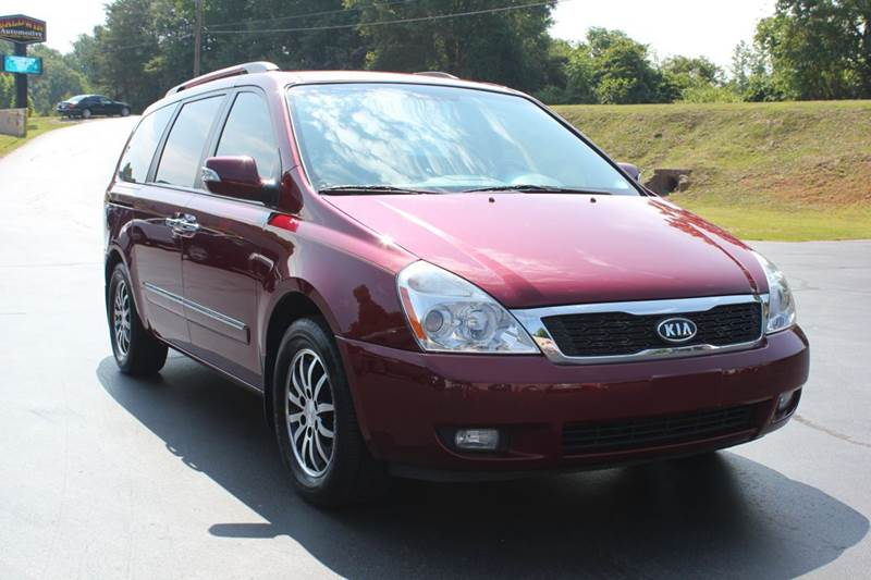 2012 KIA SEDONA EX 4DR MINI VAN LWB red baldwin automotive now has 3 locations to serve you in th